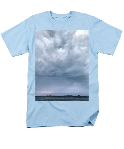Men's T-Shirt  (Regular Fit) featuring the photograph The Rising Storm by Jouko Lehto