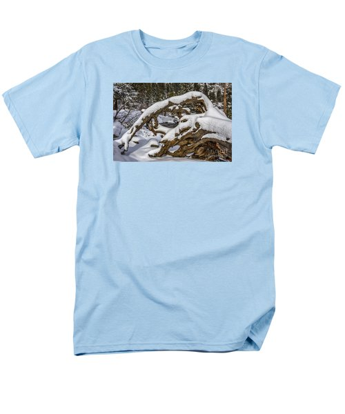 The Roots Of Winter Men's T-Shirt  (Regular Fit) by Mitch Shindelbower