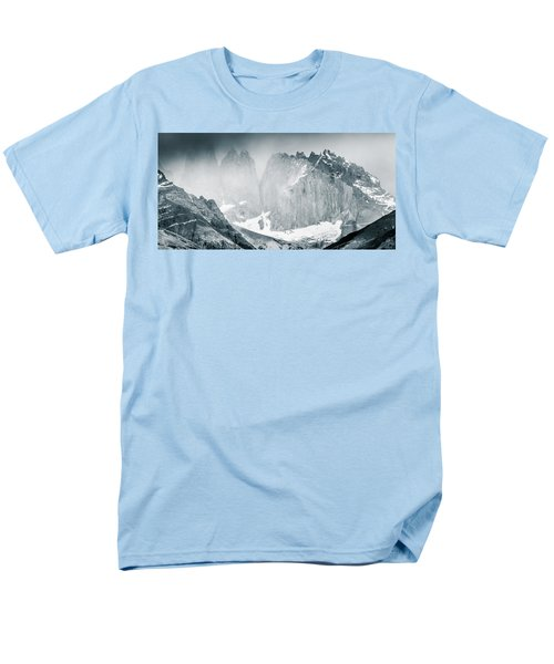 Men's T-Shirt  (Regular Fit) featuring the photograph The Towers by Andrew Matwijec