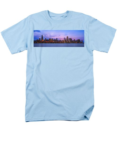 The Windy City Men's T-Shirt  (Regular Fit) by Scott Norris