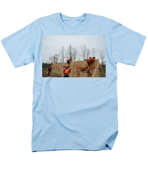 They Call It The Berlin Walls Men's T-Shirt  (Regular Fit) by Randy J Heath