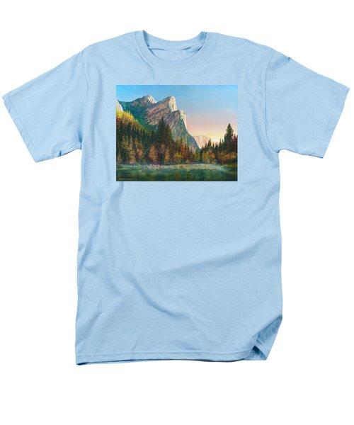 Three Brothers Morning Men's T-Shirt  (Regular Fit) by Douglas Castleman