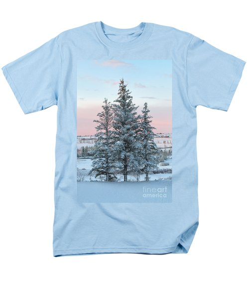 Three Trees Men's T-Shirt  (Regular Fit) by Ronda Kimbrow