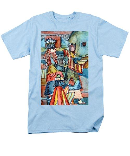 Three Wise Men Men's T-Shirt  (Regular Fit) by Mindy Newman