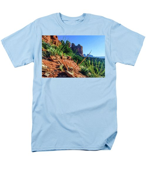 Thunder Mountain 07-006 Men's T-Shirt  (Regular Fit) by Scott McAllister
