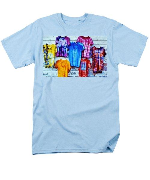 Men's T-Shirt  (Regular Fit) featuring the photograph Grateful Dead Tie Dye by Susan Carella