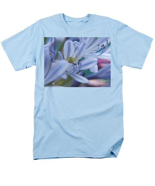 Men's T-Shirt  (Regular Fit) featuring the photograph Tiny Spider by Trena Mara