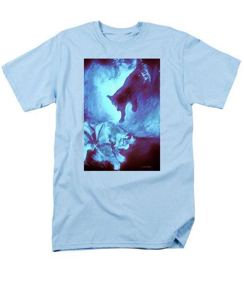 Tip Toeing On Little Cat Feet Men's T-Shirt  (Regular Fit) by Denise Fulmer