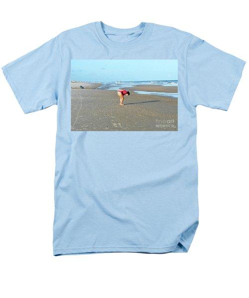 Topsail Island Beach Men's T-Shirt  (Regular Fit) by Eva Kaufman