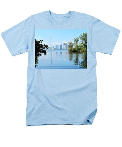 Toronto From The Islands Park Men's T-Shirt  (Regular Fit) by Ian  MacDonald