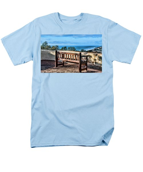 Torrey Pines View Men's T-Shirt  (Regular Fit) by Daniel Hebard