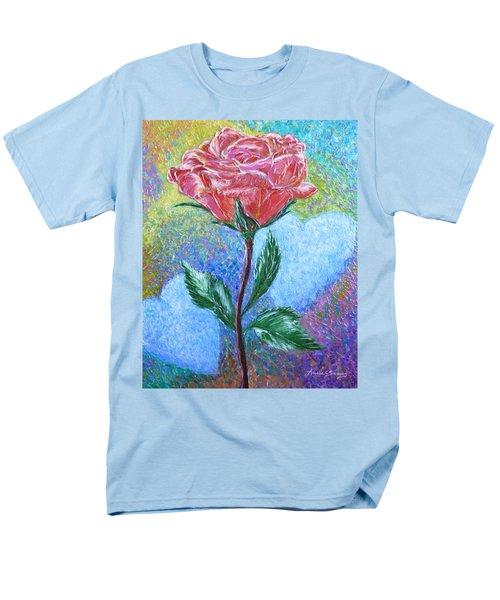 Touched By A Rose Men's T-Shirt  (Regular Fit)
