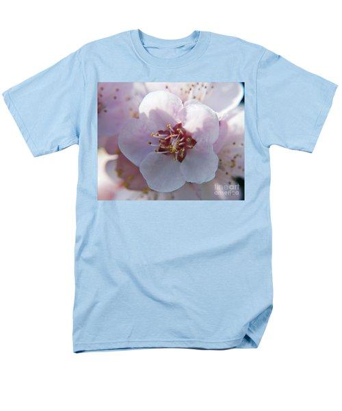 Men's T-Shirt  (Regular Fit) featuring the photograph Tree Blossoms by Elvira Ladocki
