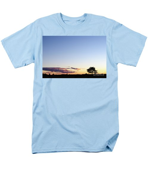 Tree Silhouette By Twilight Men's T-Shirt  (Regular Fit) by Kennerth and Birgitta Kullman