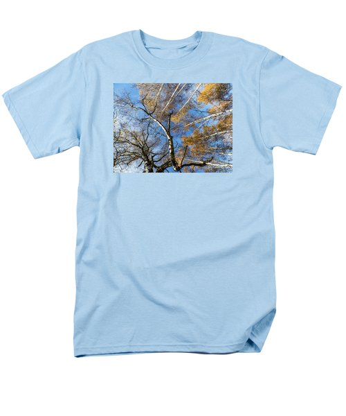 Trees Grow To The Sky Men's T-Shirt  (Regular Fit) by Odon Czintos