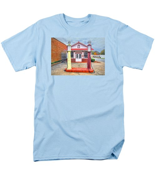 Men's T-Shirt  (Regular Fit) featuring the photograph Trucking Museum by Marion Johnson