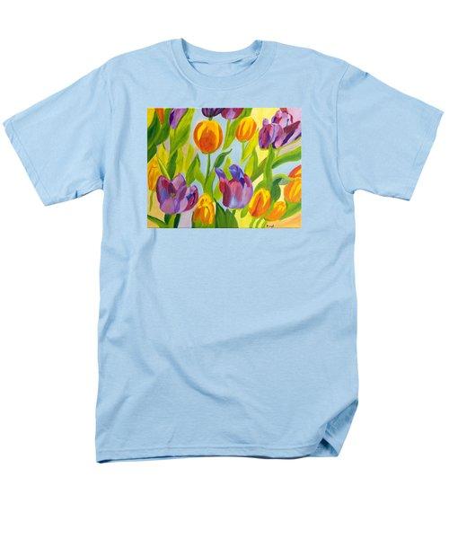 Tulip Fest Men's T-Shirt  (Regular Fit) by Meryl Goudey