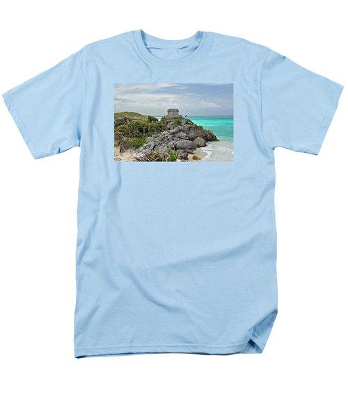 Tulum Mexico Men's T-Shirt  (Regular Fit) by Glenn Gordon