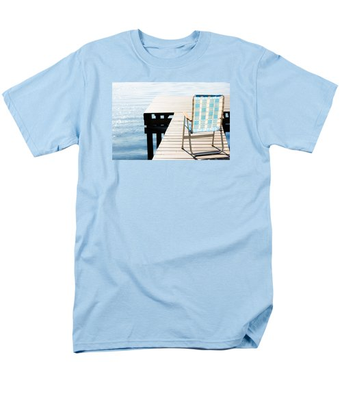 Turquoise Paradise Men's T-Shirt  (Regular Fit) by Parker Cunningham