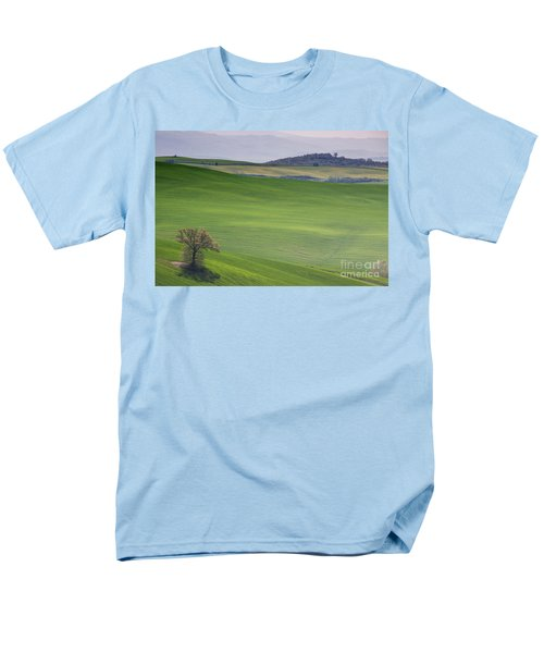 Tuscany Landscape Men's T-Shirt  (Regular Fit) by Ana Mireles