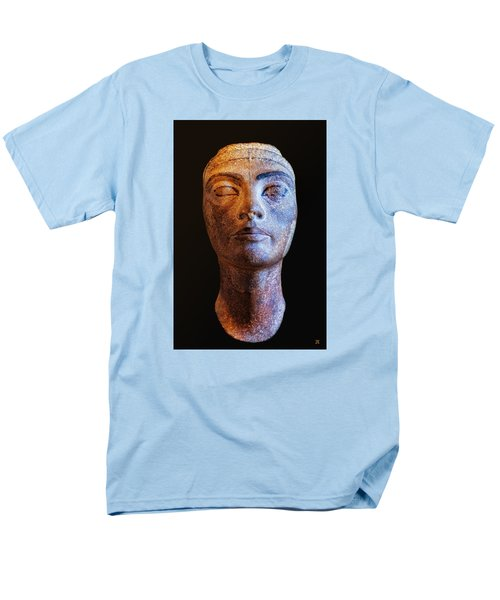 Unfinished Nefertiti Men's T-Shirt  (Regular Fit) by Nigel Fletcher-Jones
