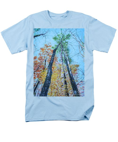 Up Into The Trees Men's T-Shirt  (Regular Fit) by Mike Ivey