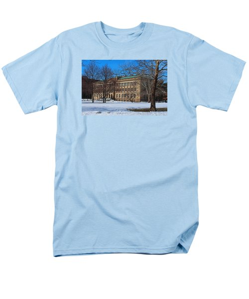 Us Court House And Custom House Men's T-Shirt  (Regular Fit) by Michiale Schneider