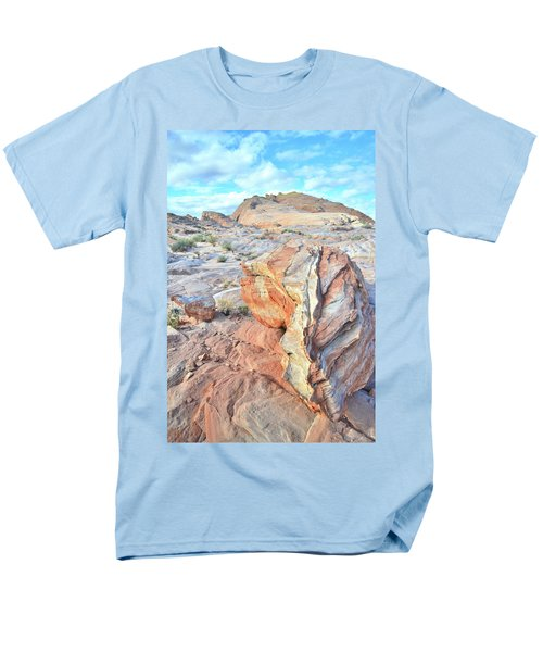 Valley Of Fire Alien Boulder Men's T-Shirt  (Regular Fit) by Ray Mathis