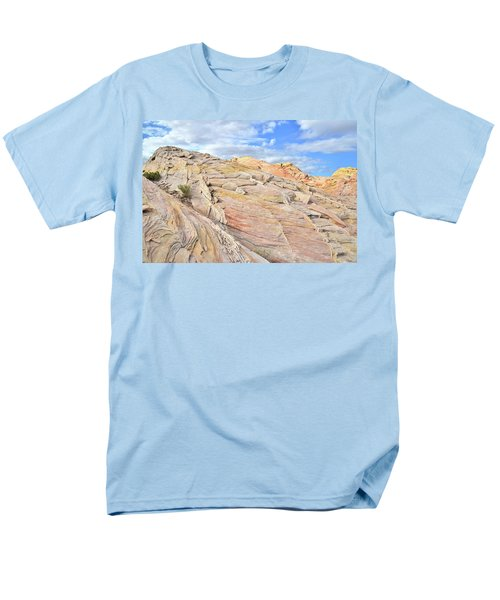 Valley Of Fire High Country Men's T-Shirt  (Regular Fit) by Ray Mathis