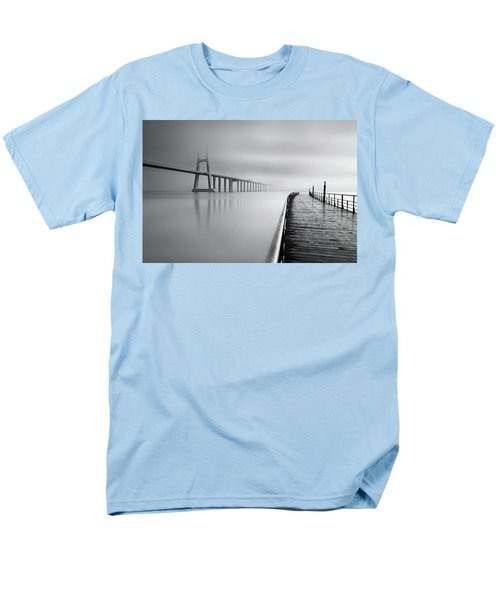 Men's T-Shirt  (Regular Fit) featuring the photograph Vanishing by Jorge Maia