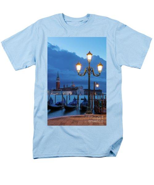Men's T-Shirt  (Regular Fit) featuring the photograph Venice Dawn V by Brian Jannsen