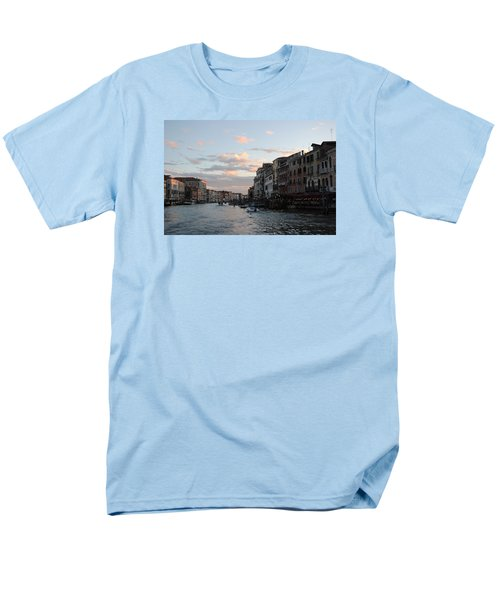 Men's T-Shirt  (Regular Fit) featuring the photograph Venice Sunset by Robert Moss