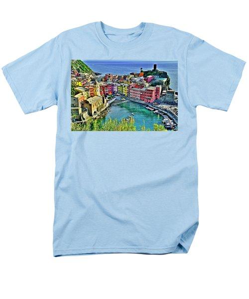 Vernazza Alight Men's T-Shirt  (Regular Fit)