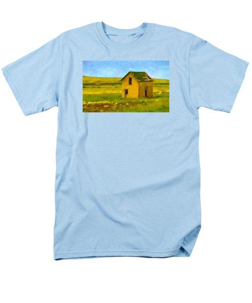 Men's T-Shirt  (Regular Fit) featuring the photograph Very Little House by Susan Crossman Buscho
