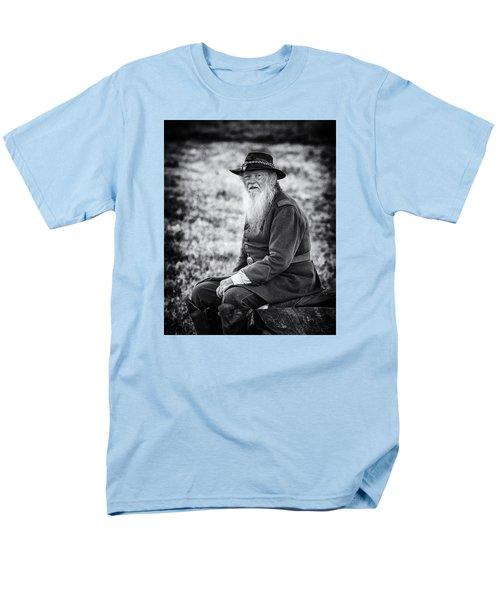 Veteran Soldier Men's T-Shirt  (Regular Fit) by Alan Raasch