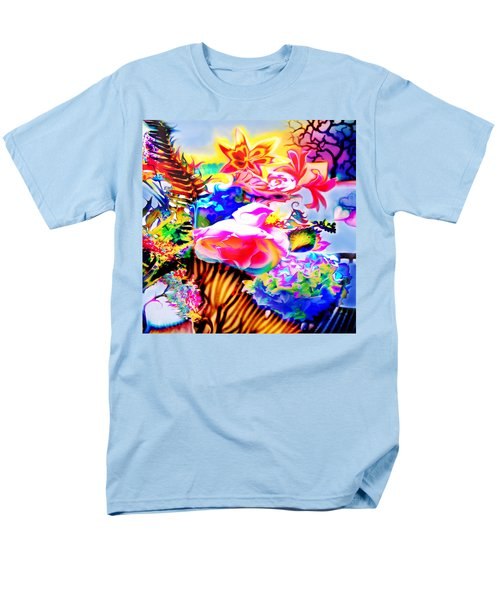 Men's T-Shirt  (Regular Fit) featuring the photograph Vibe Vase by Adria Trail