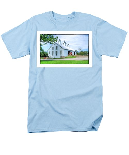 Men's T-Shirt  (Regular Fit) featuring the photograph Victorian Barn by R Thomas Berner