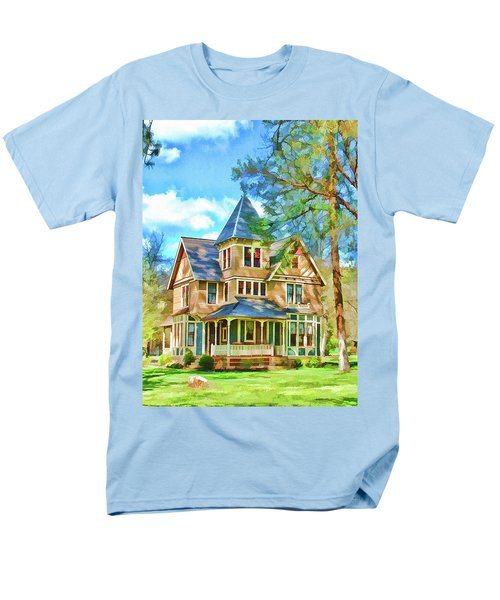 Men's T-Shirt  (Regular Fit) featuring the photograph Victorian Painting by Wendy McKennon