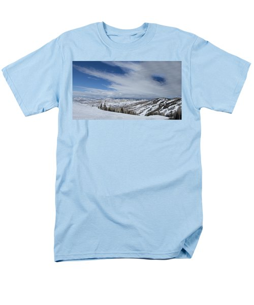 View From The Slope Men's T-Shirt  (Regular Fit) by Sean Allen