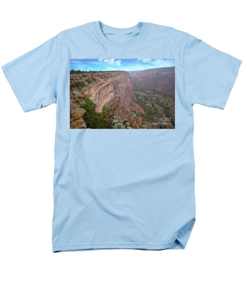 Men's T-Shirt  (Regular Fit) featuring the photograph View From The Top by Anne Rodkin