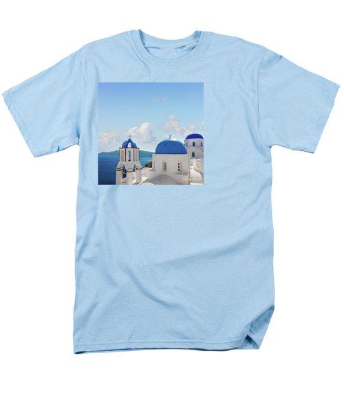 Caldera  Of Santorini Men's T-Shirt  (Regular Fit) by Anastasy Yarmolovich