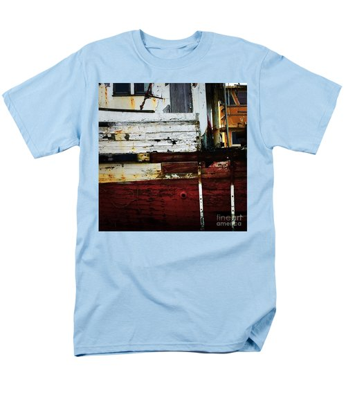 Vintage Astoria Ship Men's T-Shirt  (Regular Fit) by Suzanne Lorenz