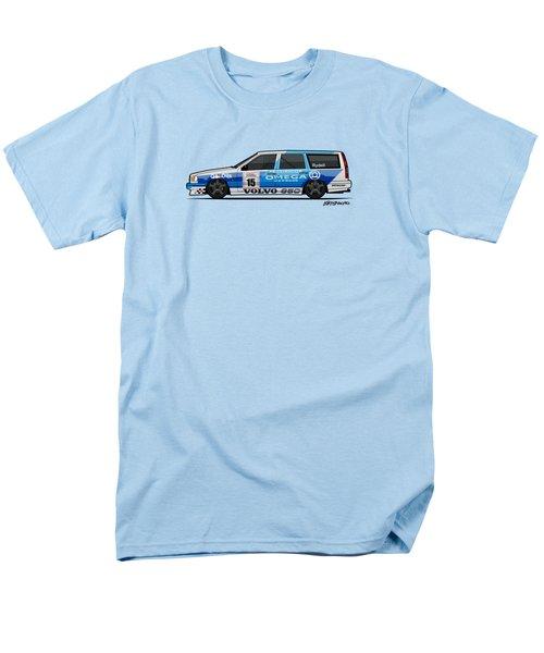 Volvo 850r Twr British Touring Car Championship  Men's T-Shirt  (Regular Fit) by Monkey Crisis On Mars