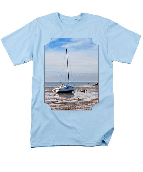 Waiting For High Tide Men's T-Shirt  (Regular Fit) by Gill Billington