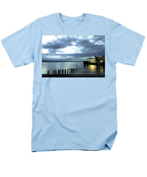 Waiting For The Ferry Men's T-Shirt  (Regular Fit) by Ronda Broatch