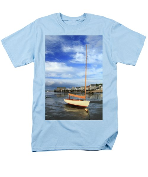 Men's T-Shirt  (Regular Fit) featuring the photograph Waiting For The Tide by Roupen  Baker