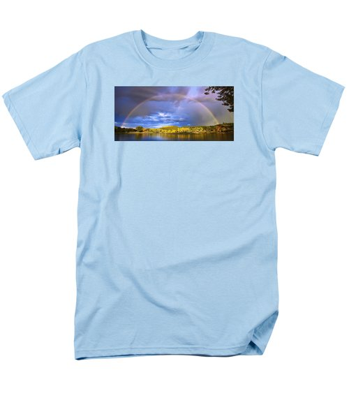 Men's T-Shirt  (Regular Fit) featuring the photograph Wake Up Rainbow  by Kadek Susanto