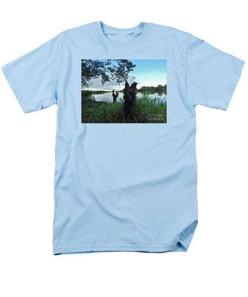 Walk Along The River In Verdun Men's T-Shirt  (Regular Fit) by Reb Frost