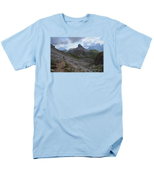 Men's T-Shirt  (Regular Fit) featuring the photograph Walk On by Yuri Santin