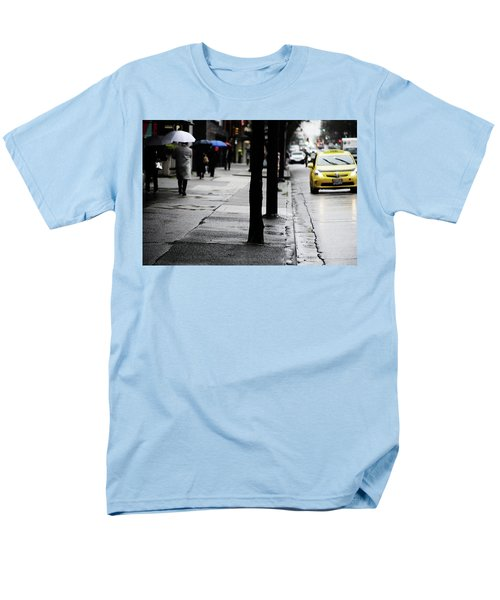 Walk Or Cab Men's T-Shirt  (Regular Fit) by Empty Wall